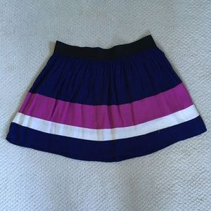 Striped mini skirt Forever 21